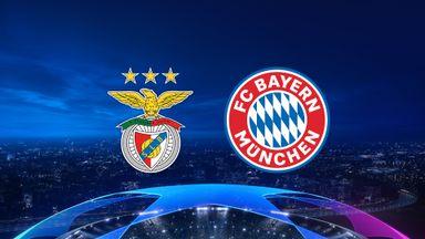 UCL: Benfica v Bayern
