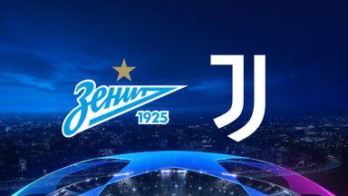 UCL: Zenit v Juventus