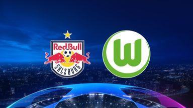 UCL: RB Salzburg v Wolfsburg