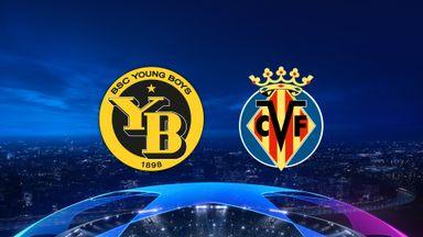 UCL: Young Boys v Villarreal