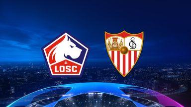 UCL: Lille v Sevilla
