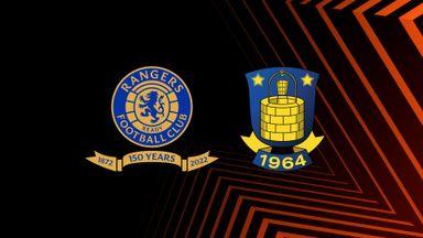 UEL: Rangers v Brondby