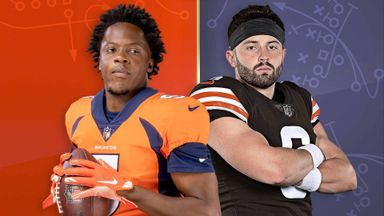 Broncos @ Browns Hlts