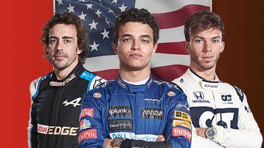 USA F1 GP: Practice 2 22.10