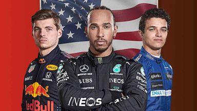 USA F1 GP: Grand Prix 24.10 Highli