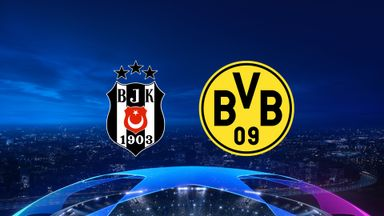 UCL: Besiktas v Dortmund