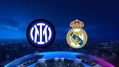UCL: Inter v Real Madrid