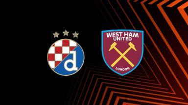 UEL: D Zagreb v West Ham