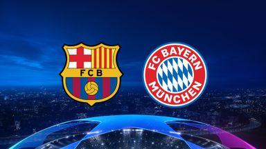 UCL: Barcelona v Bayern