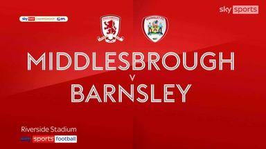 Middlesbrough 2-0 Barnsley