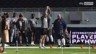 Hopefuls bid for NFL contracts