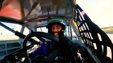 Ricciardo's NASCAR challenge