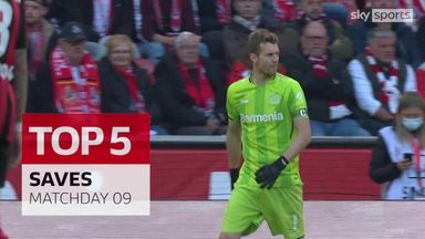 Hradecky, Hitz & more | Bundesliga MW9 top five saves