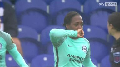 Carter finds the net for Brighton