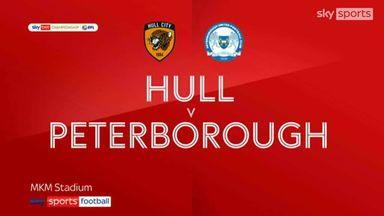 Hull 1-2 Peterborough