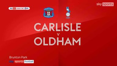 Carlisle 0-0 Oldham