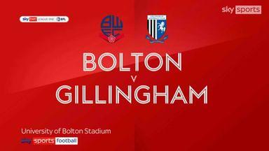 Bolton 2-2 Gillingham