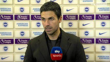 Arteta: We didn't deserve to win