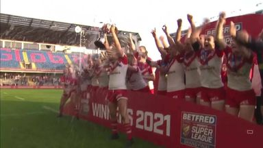 St Helens are 2021 Women's Super League Champions