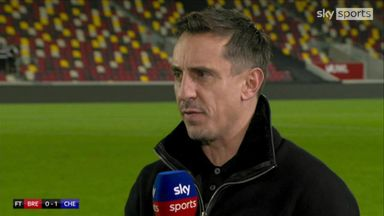 Neville: Chelsea have great shout of winning title