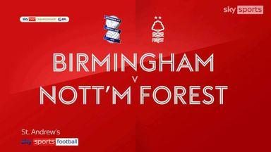 Birmingham 0-3 Nott'm Forest