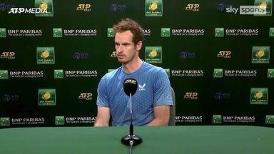 Murray: I lacked consistency