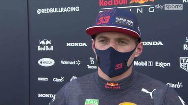 Verstappen: The track was bumpy