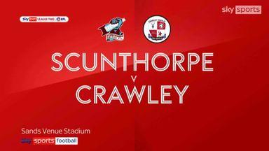 Scunthorpe 2-1 Crawley