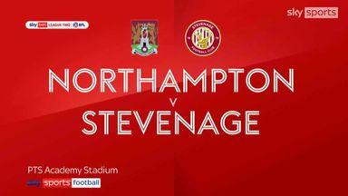 Northampton 3-0 Stevenage
