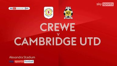 Crewe 2-2 Cambridge