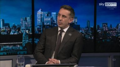 Neville: United have six grenades to manage!
