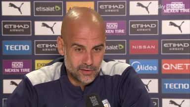 Pep on Sterling: I can't guarantee playing time