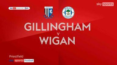 Gillingham 0-2 Wigan