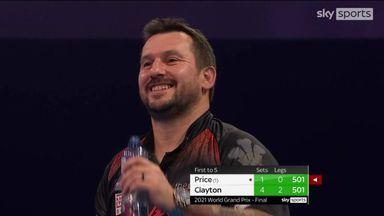 Clayton's sensational 152 finish