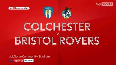 Colchester 1-1 Bristol Rovers