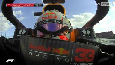 Verstappen takes pole in Austin