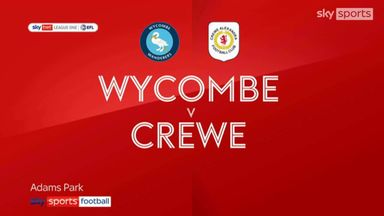 Wycombe 2-1 Crewe