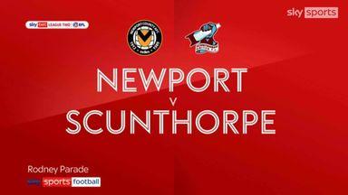 Newport 3-0 Scunthorpe