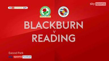 Blackburn 2-0 Reading