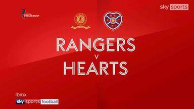 Rangers 1-1 Hearts
