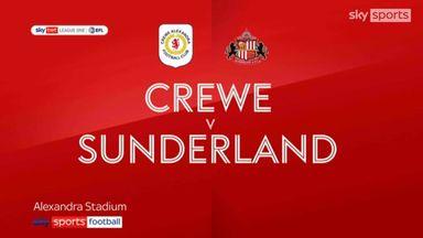 Crewe 0-4 Sunderland