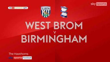 West Brom 1-0 Birmingham