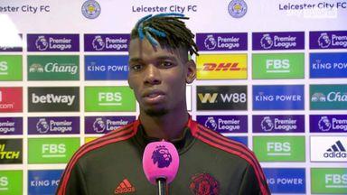 Pogba suggests Man Utd lack maturity