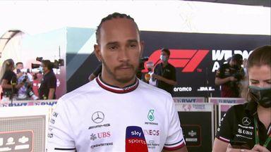 Hamilton: We struggled to keep up