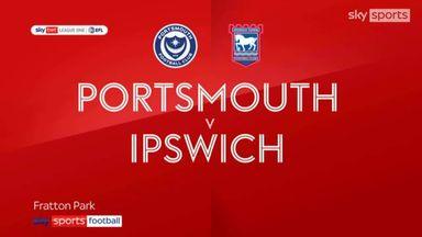 Portsmouth 0-4 Ipswich