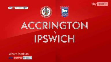 Accrington 2-1 Ipswich