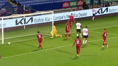 Unfortunate OG as Bolton beat Liverpool U21s