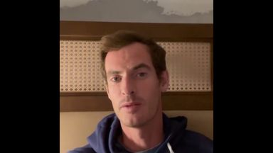 Murray asks for fans' help to find wedding ring