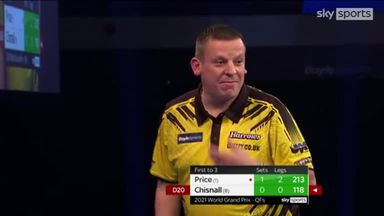 Chizzy breaks with 118