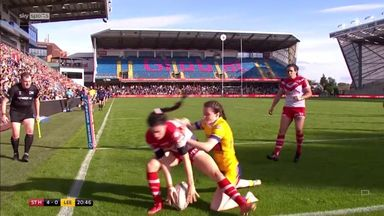 Superb try from Burke!